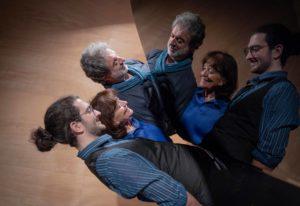 L'équipe des accordeurs : Pierre malbos, Antoine Malbos de Latour, Françoise de Latour